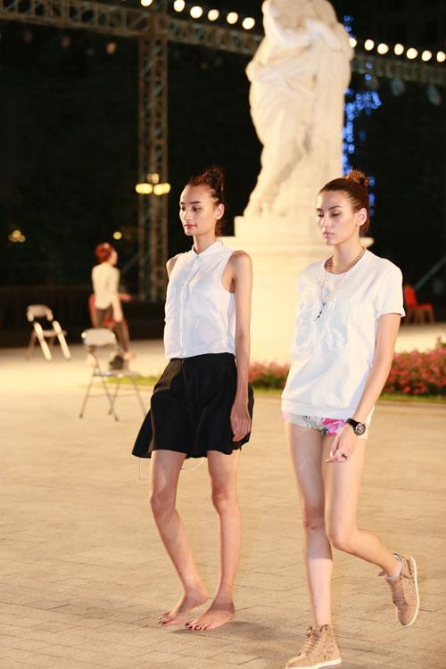 chan dai miet mai tap luyen cho dep fashion runway 3 - 19