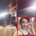 Làng sao - Angela Phương Trinh múa cột điêu luyện trên sàn tập