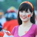 Tin tức - Những CĐV xinh đẹp của U19 Việt Nam