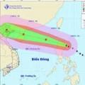 Bão Kalmaegi giật cấp 14, 15 khi vào biển Đông