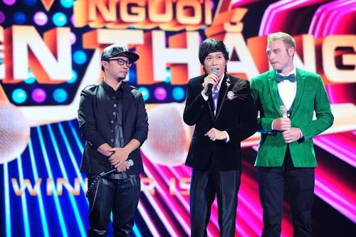 "tung lam bi giam khao ""tay chay"" tai the winner is? - 5"