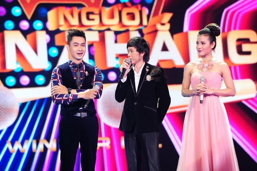"tung lam bi giam khao ""tay chay"" tai the winner is? - 1"