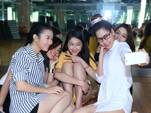 thu thao, jennifer pham lam giam khao miss ngoi sao - 2