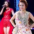 Thời trang - Hoàng Thùy Linh lộ chân ngắn vì váy lượt thượt