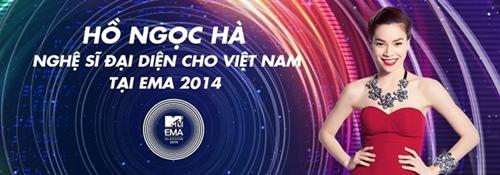 ho ngoc ha chinh thuc so ke tai mtv ema 2014 - 1