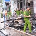 Tin tức - Ảnh hiện trường vụ cháy tiệm cắt tóc 7 người tử vong