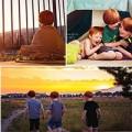 Làm mẹ - Bộ ảnh tuyệt đẹp mẹ chụp 3 con trai tóc đỏ