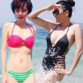 Thời trang - Gái hai con Vbiz mặc bikini đẹp ngỡ ngàng