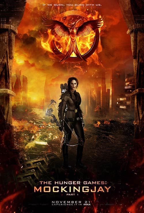 """the hunger games: mockingjay"" tung trailer mau lua - 1"
