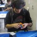 Clip Eva - Bịt mắt giải Rubik trong vòng 30s