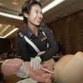 Bà bầu - Cảnh sát Thái Lan học đỡ đẻ cho phụ nữ mang thai