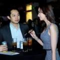 Làng sao - Trúc Diễm cùng người yêu Việt kiều đi xem ca nhạc
