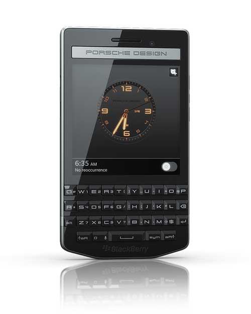 blackberry chinh thuc cong bo porsche design p'9983 - 1