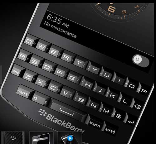 blackberry chinh thuc cong bo porsche design p'9983 - 3