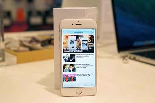 iphone 6 dau tien da co mat o ha noi, gia iphone 6 26 trieu dong - 1