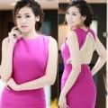 Thời trang - Á hậu Tú Anh đẹp nõn nà với gam màu hồng