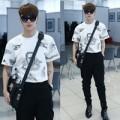 Thời trang - Hot boy mê unisex sành điệu với màu đen - trắng