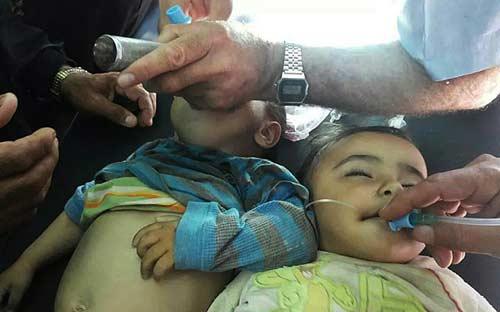 syria: hang chuc tre tu vong sau khi tiem vac xin soi - 1