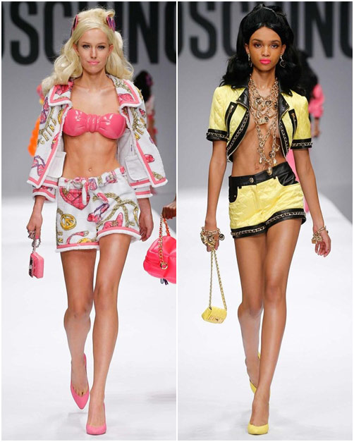 "bup be barbie ""do bo"" san dien cua moschino - 13"