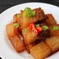 Bếp Eva - Ngon cơm với thịt heo om củ cải trắng