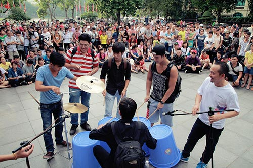 """chính thúc khỏi dọng """"monsoon music festival 2014"""" - 11"""