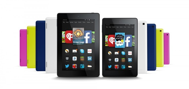 amazon tung tablet kindle fire moi gia tu 99 usd - 2