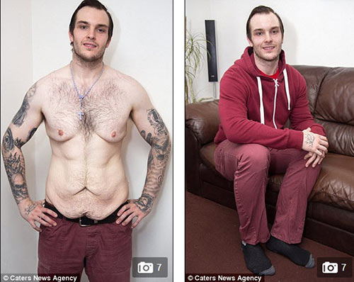 chang trai giam 44kg de di gap mat ban gai online - 4