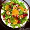 Salad cam thanh mát ngày thu