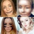Làm đẹp - Cô gái nổi danh nhờ biệt tài trang điểm quái dị