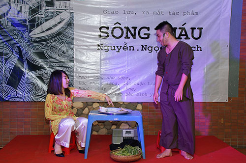 "nguyen ngoc thach lam nhan vat chinh trong ""song mau"" - 4"
