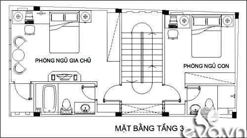 xay nha pho 55m2 xinh xan - 3