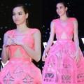 Thời trang - Hà Hồ phô diễn cơ thể đầy đẳng cấp với váy 3D