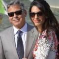 Làng sao - George Clooney lần đầu xuất hiện bên cô dâu