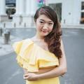 Làng sao - MC Vân Anh đẹp rạng rỡ với gam màu vàng