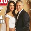 Làng sao - George Clooney lần đầu khoe ảnh cưới lãng mạn