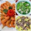 Bếp Eva - Bữa cơm ngon với tôm rang muối, canh mướp