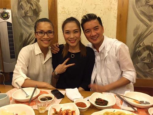 Mr Đàm vui vẻ bên Mỹ Tâm giữa scandal với Quang Lê-1