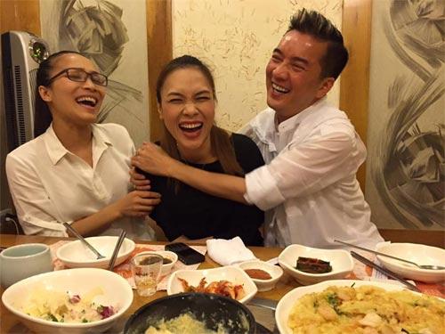 Mr Đàm vui vẻ bên Mỹ Tâm giữa scandal với Quang Lê-2