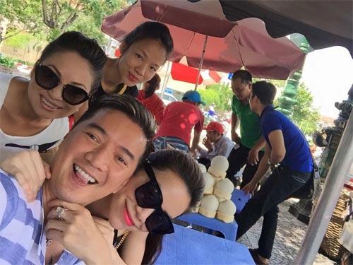 Mr Đàm vui vẻ bên Mỹ Tâm giữa scandal với Quang Lê-4