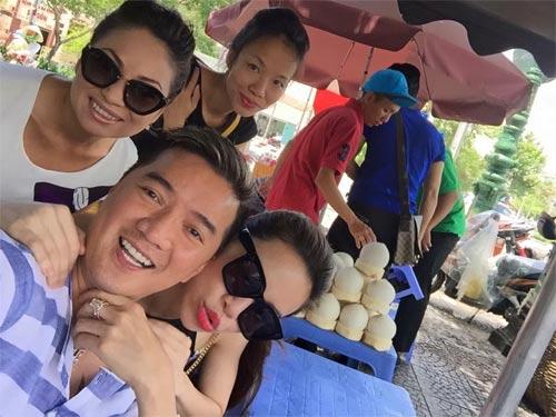 Mr Đàm vui vẻ bên Mỹ Tâm giữa scandal với Quang Lê-3