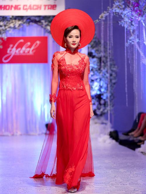 Dương Yến Ngọc hai con vẫn làm cô dâu lộng lẫy - 5