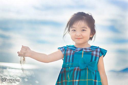 """""""Chao đảo"""" với bộ ảnh mới của thiên thần nhí 4 tuổi Sài Gòn-4"""