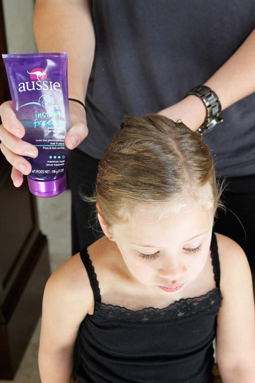 5 phút làm tóc nơ xinh-mát-gọn cho con gái yêu-2