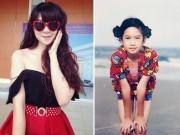 Làm đẹp - Bà xã hot girl của Lý Hải xinh từ bé