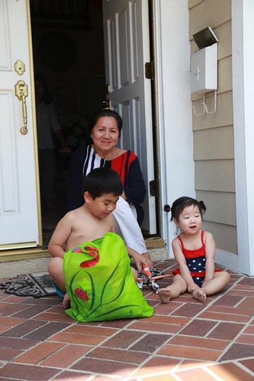 """Con gái Trương Minh Cường hơn 1 tuổi đã biết """"hái ra tiền""""-7"""