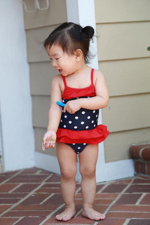 """Con gái Trương Minh Cường hơn 1 tuổi đã biết """"hái ra tiền""""-5"""