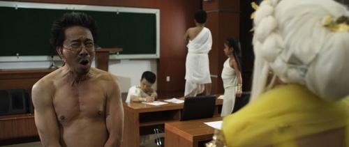 """Danh hài Bảo Chung """"bán nude"""" trước mặt Việt Hương-10"""