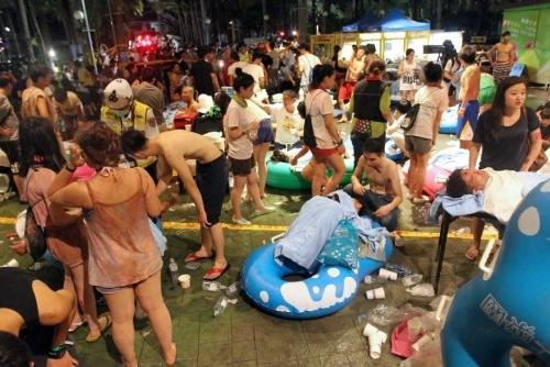 Vụ nổ Đài Loan: Đóng băng tài khoản để đền bù cho nạn nhân-1