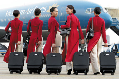 Đồng phục chính thức của Vietnam Airlines được khen ngợi - 9