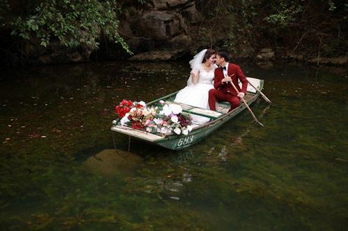 """Bộ hình cưới ngọt ngào của cặp đôi """"mối tình đầu""""-3"""